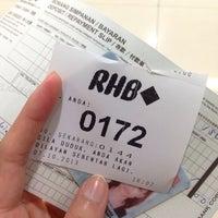 Photo taken at RHB Bank @bukit bintang by نور ناديه ا. on 10/7/2013