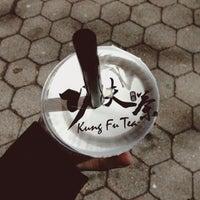 Photo taken at Kung Fu Tea 功夫茶 by Nicole V. on 3/20/2013