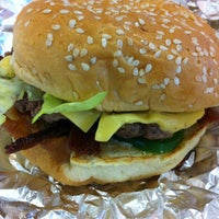 Photo taken at Five Guys by Jessie W. on 1/14/2013