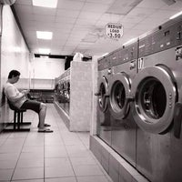 Photo taken at 301 Broadway Laundromat by TEe!  M. on 9/18/2014