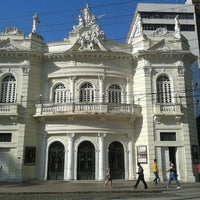 Photo taken at Teatro Carlos Gomes by Rudinick A. on 10/30/2012
