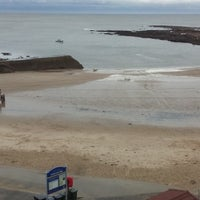 Photo taken at Cullercoats Beach by Paul W. on 1/6/2015