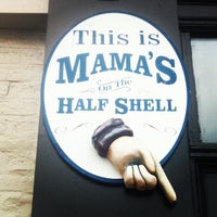 Photo taken at Mama's on the Half Shell by Ambreen R. on 12/27/2012