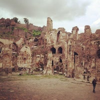 Photo taken at Golconda Fort by Amy on 8/25/2013