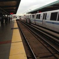 Photo taken at West Oakland BART Station by Jaime J. on 12/14/2012