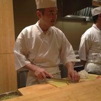 Photo taken at Sushi Yasuda by Ali G. on 11/16/2012