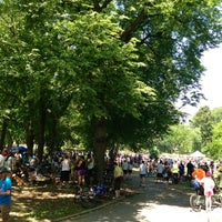 Photo taken at Lincoln Terrace Park by Joe K. on 6/2/2013