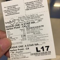 Photo taken at Harbor Point Cinemas by Apple V. on 12/19/2016