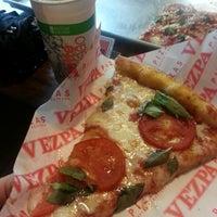 Photo taken at Vezpa Pizzas by David M. on 1/15/2013
