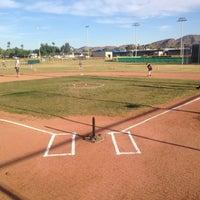 Photo taken at Shadow Mountain Little League Fields by Aaron Z. on 4/20/2013