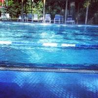 Photo taken at Essex Pool Montclair by Thomas R. on 7/26/2013