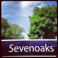 Photo taken at Sevenoaks Railway Station (SEV) by Ian M. on 6/7/2013