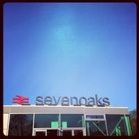 Photo taken at Sevenoaks Railway Station (SEV) by Ian M. on 5/2/2013