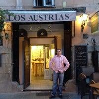 Photo taken at Café de los Austrias by Ryan H. on 9/25/2013