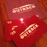 Photo taken at Outback Steakhouse by Diane T. on 4/16/2013