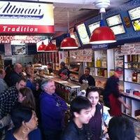 Photo taken at Attman's Authentic New York Delicatessen by Joshua P. on 11/24/2012