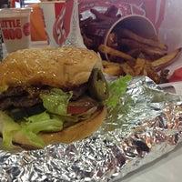 Photo taken at MOOYAH Burgers, Fries & Shakes by John G. on 7/9/2013