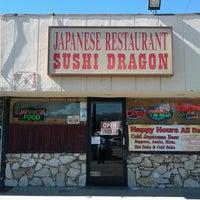 Photo taken at Sushi Dragon by Corey P. on 11/1/2013
