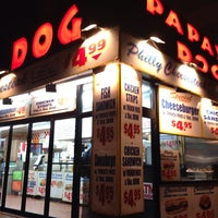 Photo taken at Papaya Dog by John S. on 2/16/2014