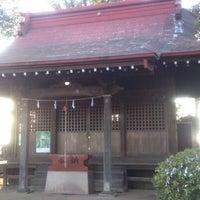 Photo taken at 長尾神社 by Yasuyuki O. on 2/2/2013