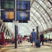 Photo taken at Gare SNCF de Montpellier Saint-Roch by Chad S. on 7/21/2013