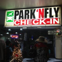 Photo taken at Park 'N Fly by Angelica P. on 12/15/2012