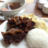 Photo taken at Sop Buntut Bogor Cafe by Hendrik K. on 12/10/2012