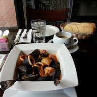Photo taken at Brasserie Creperie by Joseph R. on 11/8/2013