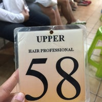Photo taken at Upper Hair Professional (อัพเพอร์) by Porziie M. on 5/29/2016