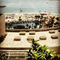 1/25/2013 tarihinde Mariia N.ziyaretçi tarafından Rixos The Palm Dubai'de çekilen fotoğraf
