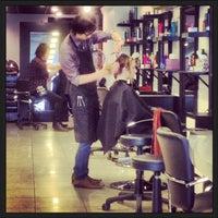Photo taken at Tease Hair Salon by Matt S. on 4/28/2013