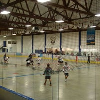 Photo taken at Stu Peppard Arena by Donna M. on 5/9/2015