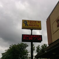 Photo taken at Louie's Finer Meats by Gerry F. on 8/5/2013
