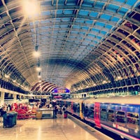 Photo taken at London Paddington Railway Station (QQP) by Alex K. on 7/13/2013