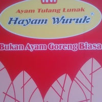 Photo taken at Ayam Tulang Lunak Hayam Wuruk by Yogi A. on 5/25/2016