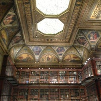 Photo taken at The Morgan Library & Museum by Adam H. on 12/24/2012