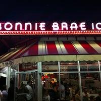 Photo taken at Bonnie Brae Ice Cream by Brianne K. on 4/1/2012