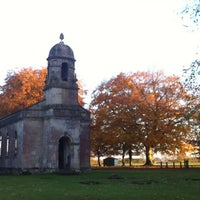 Photo taken at Babington House by Jonathan W. on 11/11/2012