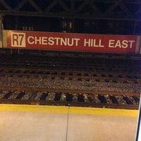 Photo taken at SEPTA Chestnut Hill East Station by IG: CASTRODOM06 on 1/20/2013