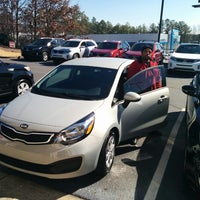Photo taken at Ed Voyles Kia by EJ F. on 2/15/2014