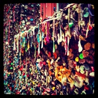 Photo taken at Gum Wall by Miguel Angel G. on 3/6/2013
