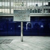 Photo taken at New Scotland Yard by Benjamin M. on 9/1/2013