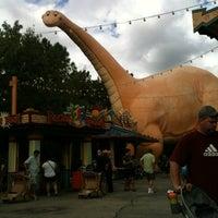 Photo taken at DinoLand U.S.A. by Jennifer S. on 10/23/2012