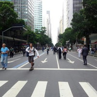 Photo taken at Avenida Rio Branco by Tiago V. on 11/26/2012