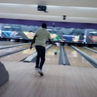 Photo taken at AMF Pikesville Lanes by Patricia S. on 4/5/2013