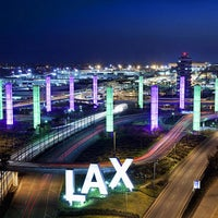 Photo taken at Los Angeles International Airport (LAX) by Anthony E. on 10/28/2013