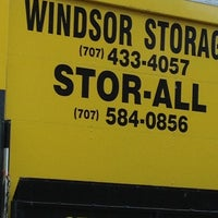 Photo taken at Windsor Storage by Marc J. on 9/27/2013