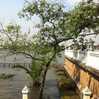 Photo taken at Santichai Prakan Park by Mimi M. on 1/5/2013
