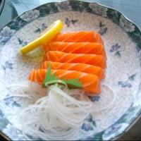 Photo taken at Sushi Naga by Fu T. on 1/27/2013