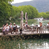 Photo taken at Banys Vells Banyoles by Claudio B. on 8/13/2014